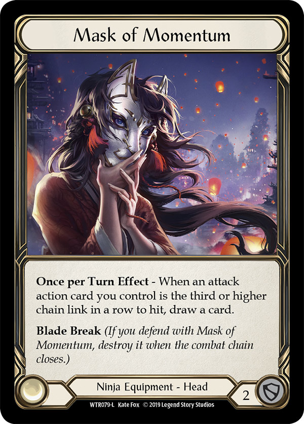 Mask of Momentum (Cold Foil)